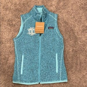 NWT Patagonia Better Sweater Fleece Vest.